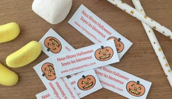 chasse aux bonbons stickers halloween touraine tours my happy tribu famille sortie enfant